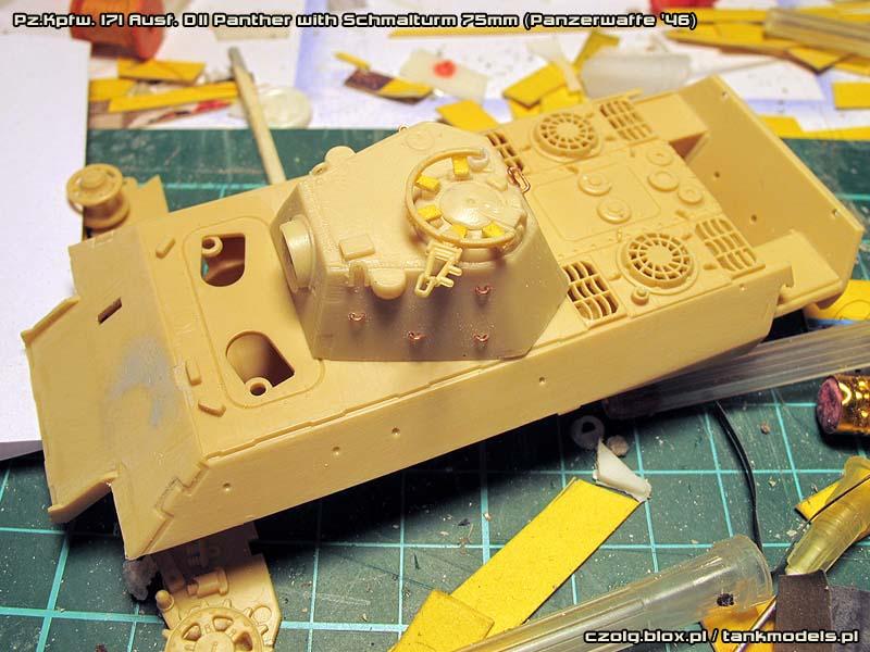 Panther Ausf. D Schmalturm 75mm