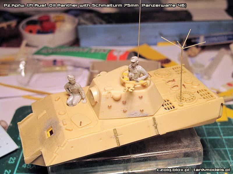 Panther Ausf. D(II) Schmalturm 75mm - Warsztat (Update 2)