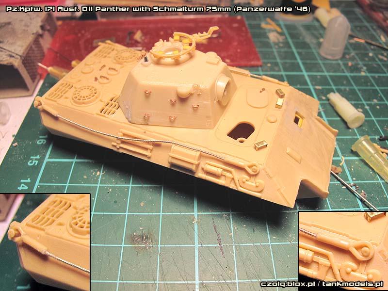 Panther Ausf. D(II) Schmalturm 75mm - Warsztat