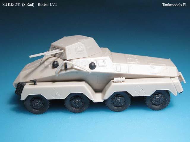 Sd.Kfz. 231- Rodem 1/72