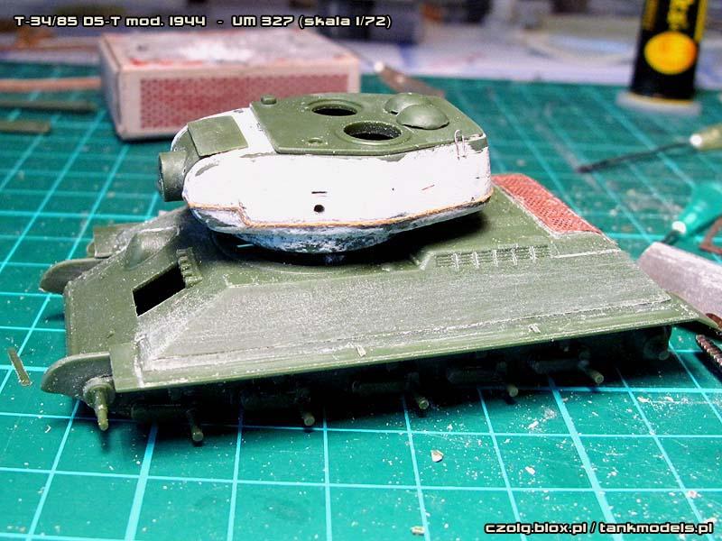 T-34/85 mod. 1944 z działem D5-T
