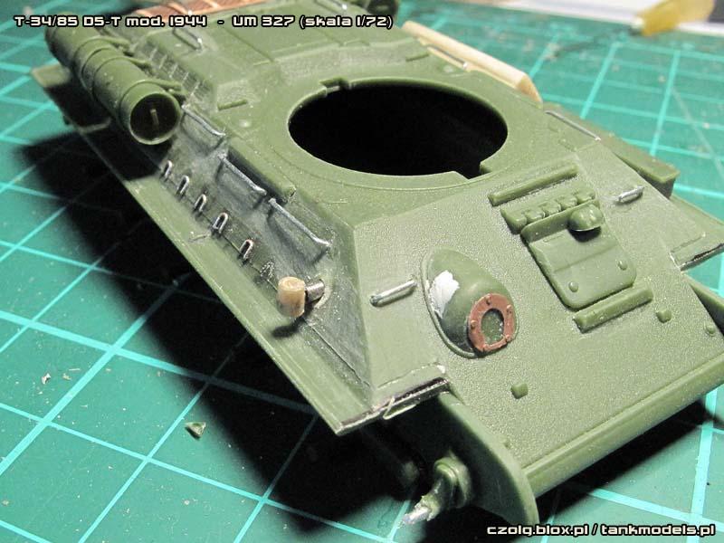 T-34/85 mod. 1944 z działem D5-T 85 mm - Warsztat