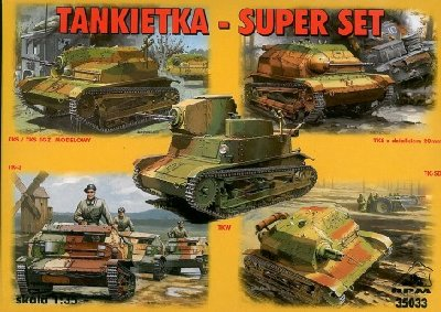 Tankietki - Super Set RPM 1/35