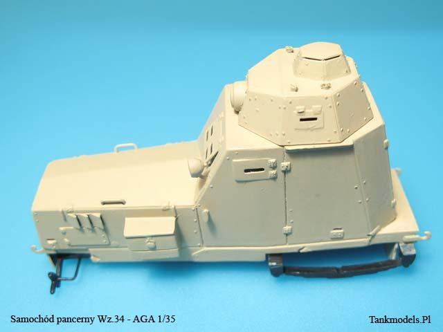 Samochód pancerny Wz. 34 - AGA 1/35