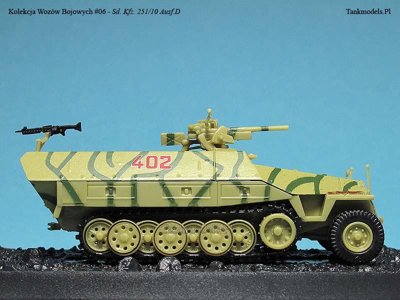 Kolekcja Wozów Bojowych Nr.6 - Sd.Kfz. 251/10 Ausf.D