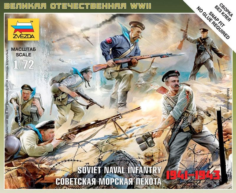 SOVIET NAVAL INFANTRY 1941-1943