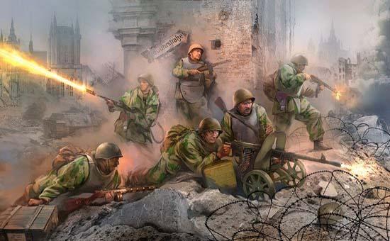 Soviet Assault Troops - Zvezda 3509 1/35
