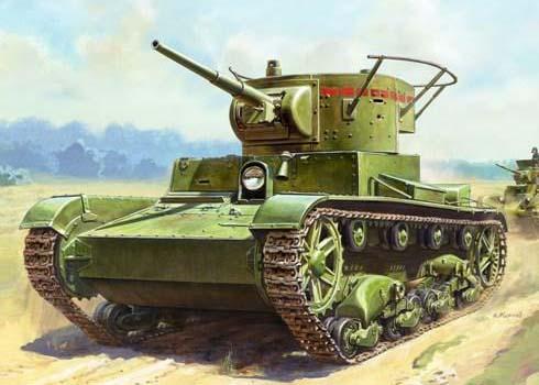 T-26 mod.1933 - Zvezda 1/35 3538